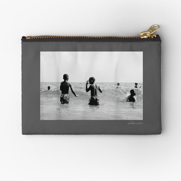 Black Boy Joy image series by TWoods Photography Nice Gift Zipper Pouch