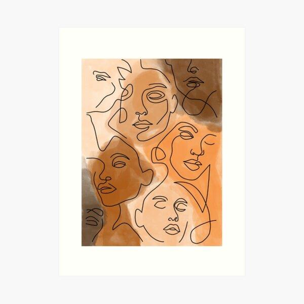 Beauty in Diversity  Art Print