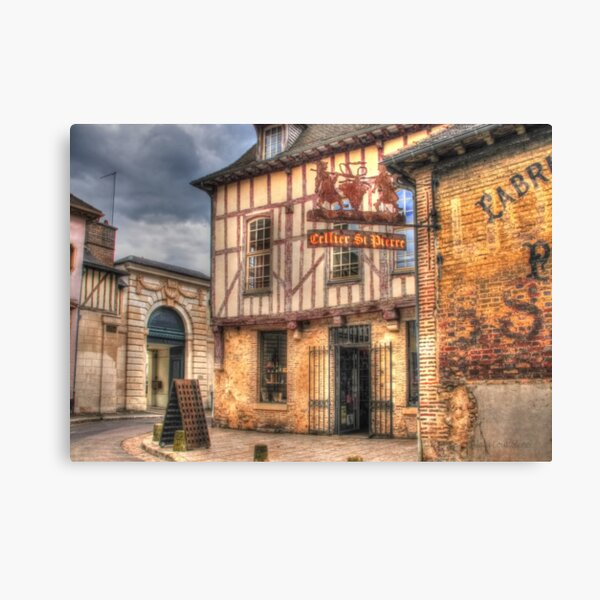 Cellier St Pierre Troyes France Canvas Print