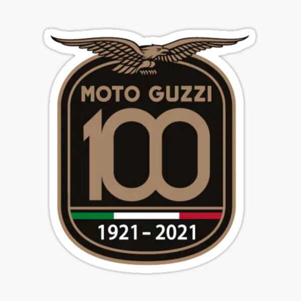 100 años Guzzi Pegatina