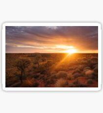 Sunrise at Ayers Rock | Uluru Sticker