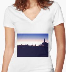 Ottawa Women's Fitted V-Neck T-Shirt