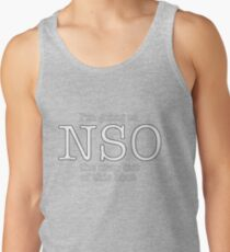NSO the bout Tank Top