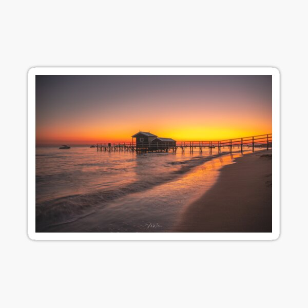Shelley Beach, Portsea, Victoria, Australia Sticker