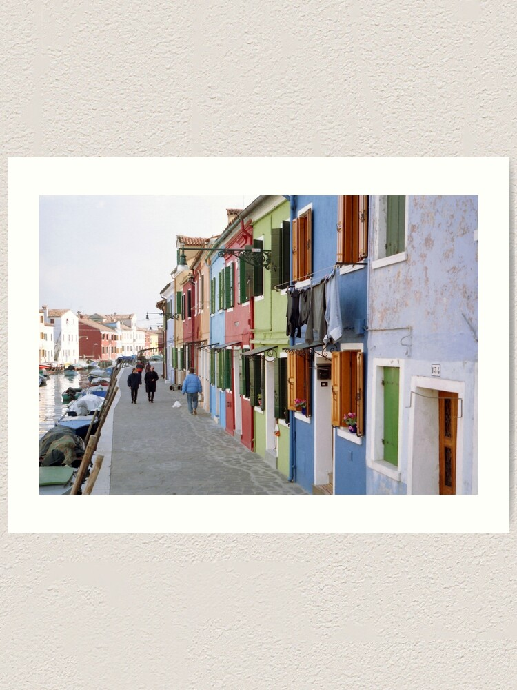 Alternate view of Colours of Burano Art Print