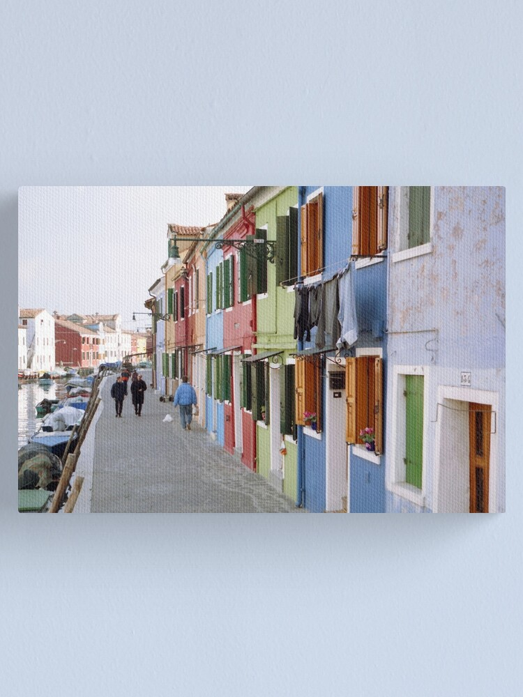 Alternate view of Colours of Burano Canvas Print