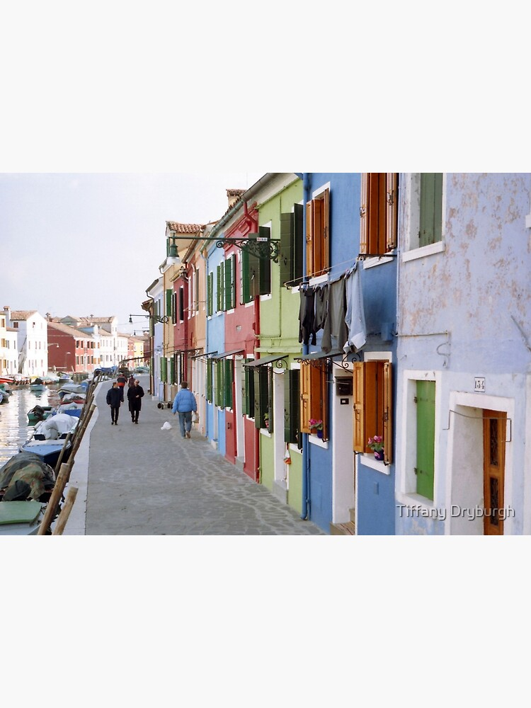 Colours of Burano by Tiffany