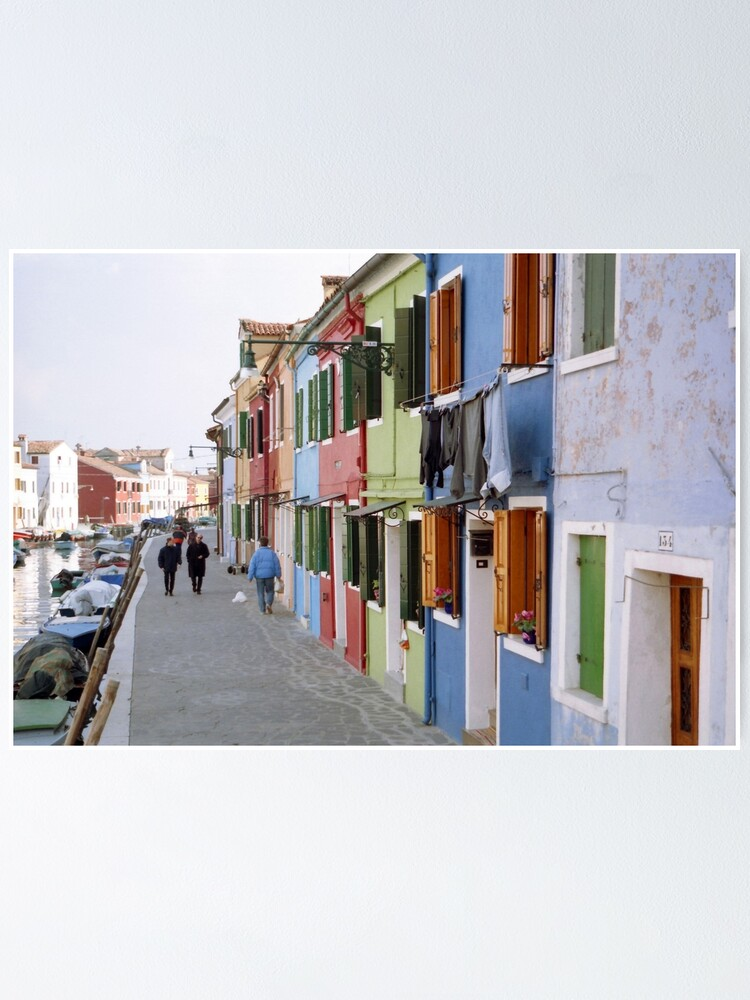 Alternate view of Colours of Burano Poster