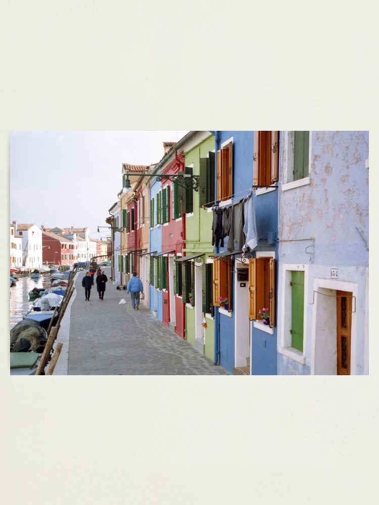 Alternate view of Colours of Burano Photographic Print