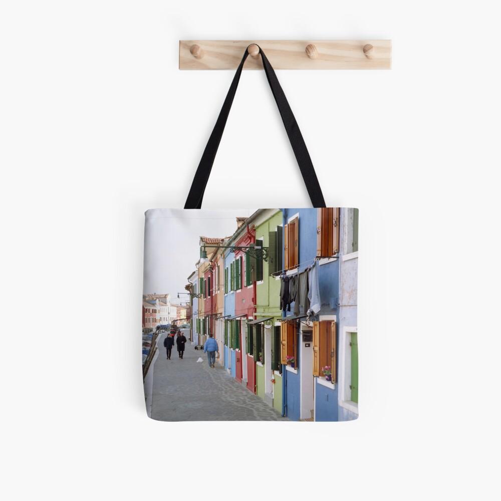 Colours of Burano Tote Bag