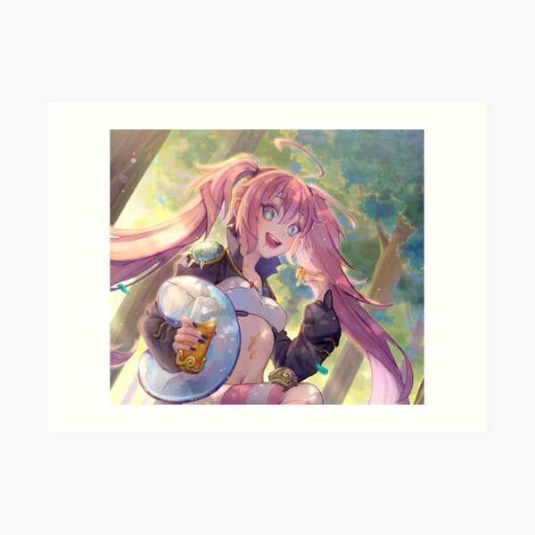 Milim Nava and Rimuru Tempest Art Print