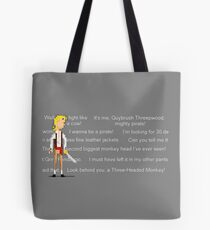 I wanna be a pirate! Tote Bag