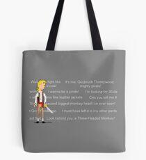 I wanna be a pirate! Tote Bag