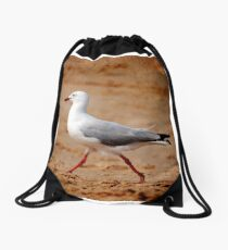 Gull Drawstring Bag