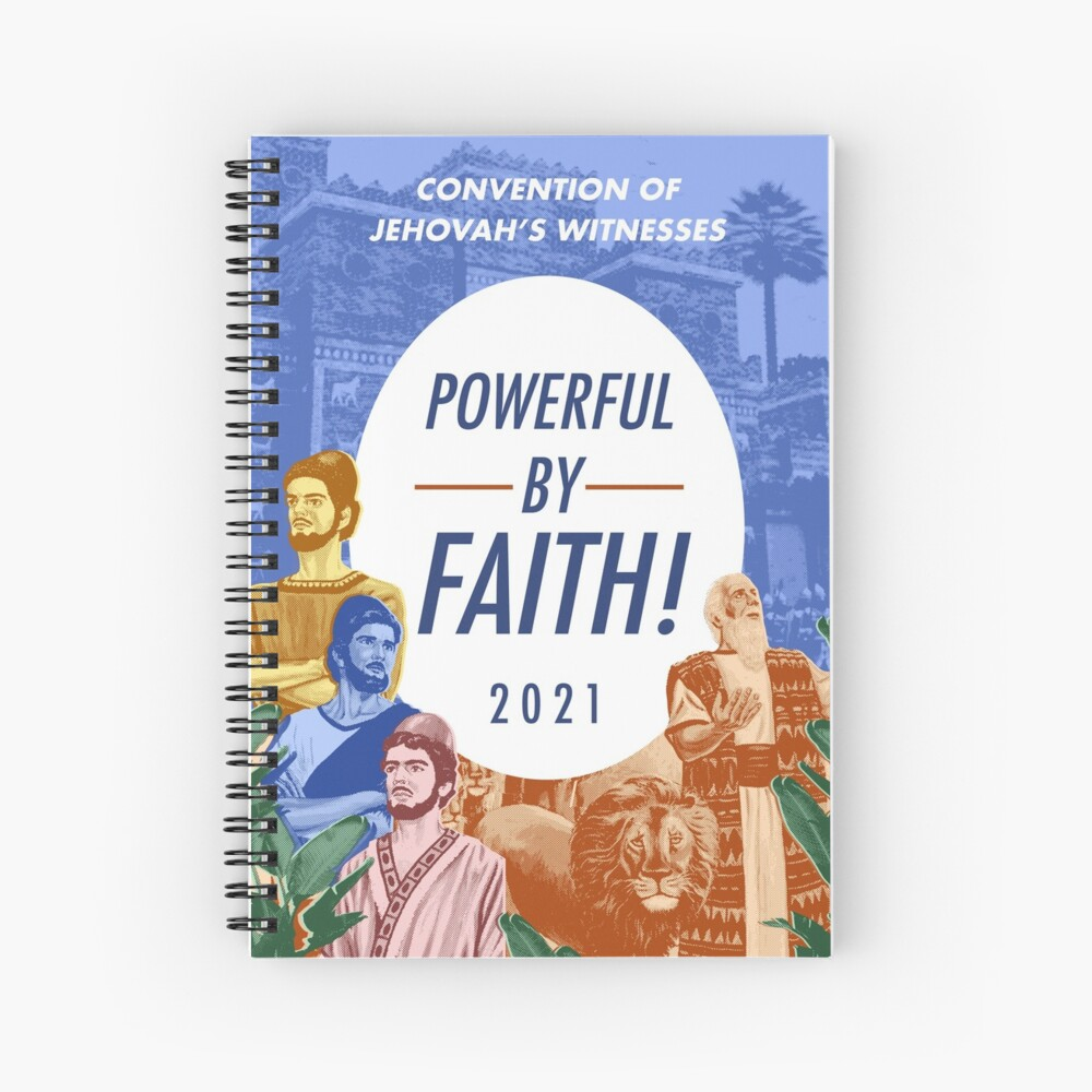 POWERFUL BY FAITH! Spiral Notebook