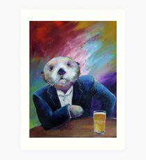 Most Interesting Otter Art Print