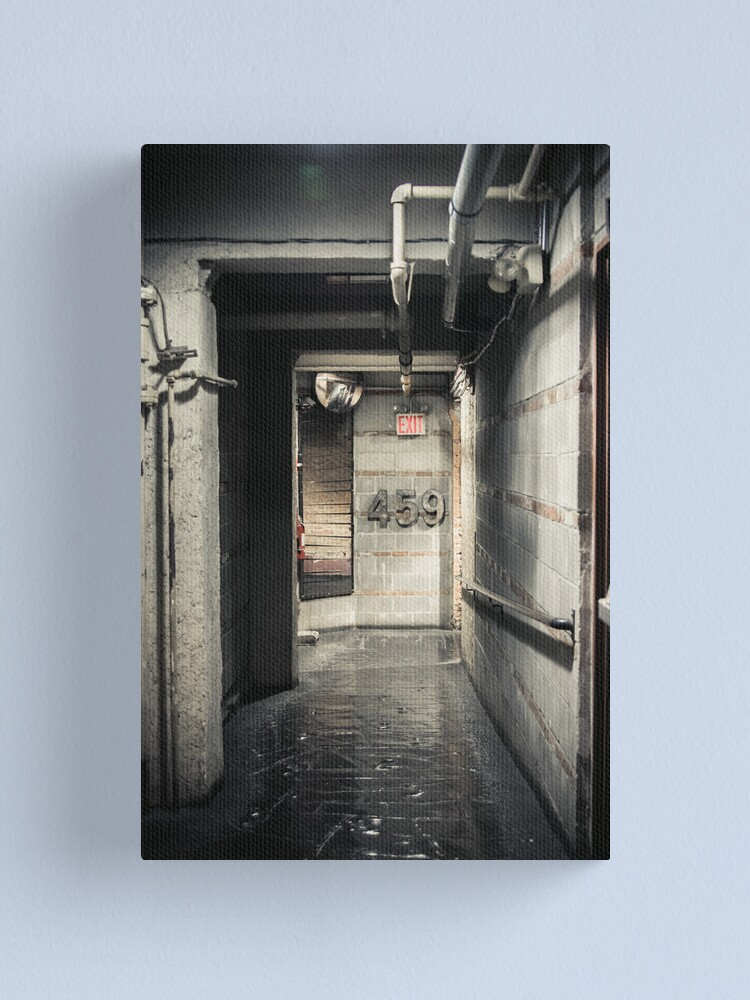 Alternate view of Corridor and number Canvas Print