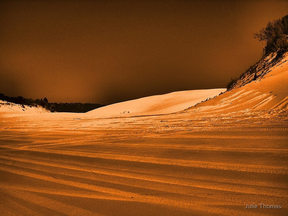 Dramatic Dunes by Julie Thomas