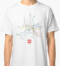 rome subway Classic T-Shirt