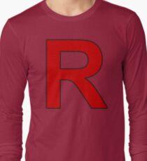 Team Rocket - Jessie and James Long Sleeve T-Shirt