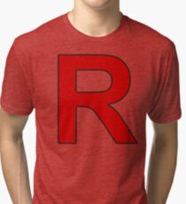 Team Rocket - Jessie and James Tri-blend T-Shirt