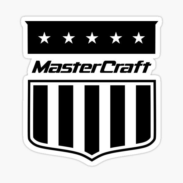 BEST SELLER - Mastercraft Logo Sticker
