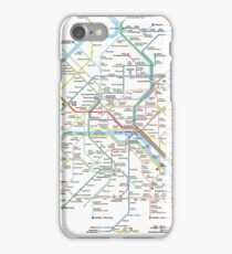 paris subway iPhone Case/Skin