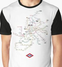 madrid subway Graphic T-Shirt