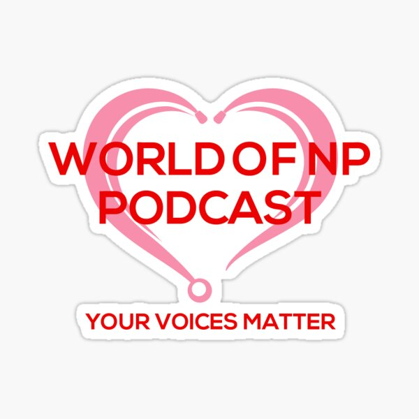 World Of NP Podcast Sticker