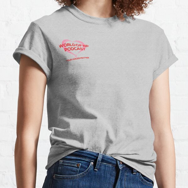 World Of NP Podcast Classic T-Shirt
