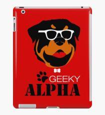 Geeky Alpha iPad Case/Skin