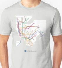 new york subway Unisex T-Shirt