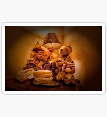 Bear Stories:  A Teddy Bear Bear-thday Party Sticker