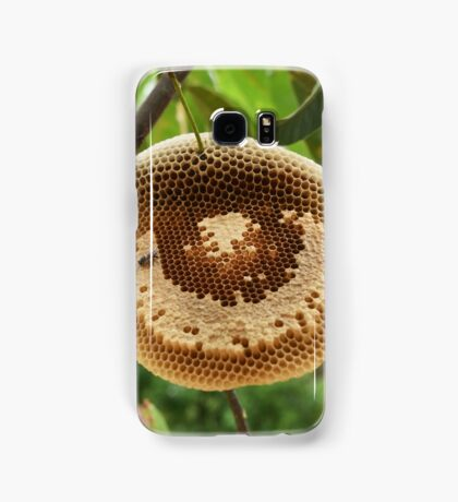 Bees on honycomb Samsung Galaxy Case/Skin