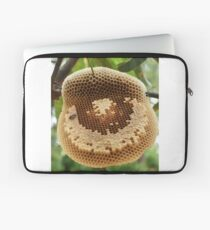 Bees on honycomb Laptop Sleeve