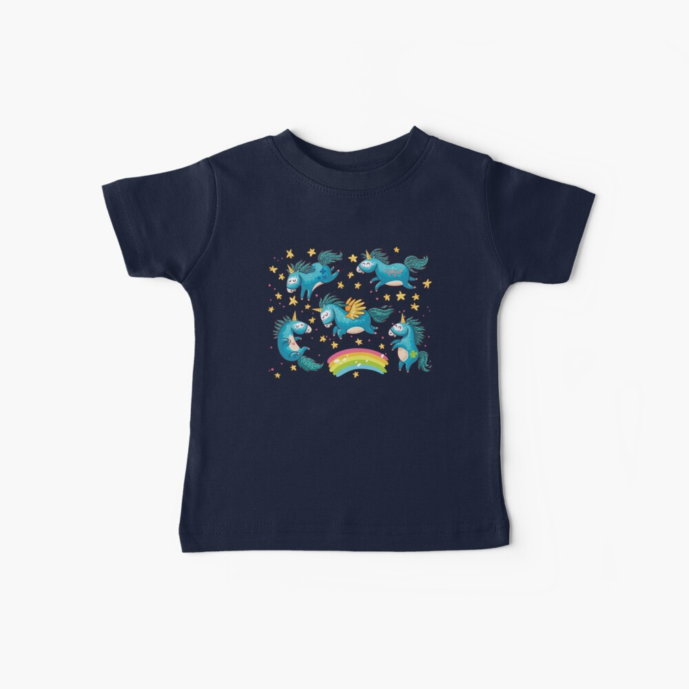 Ich glaube an Magie Baby T-Shirt