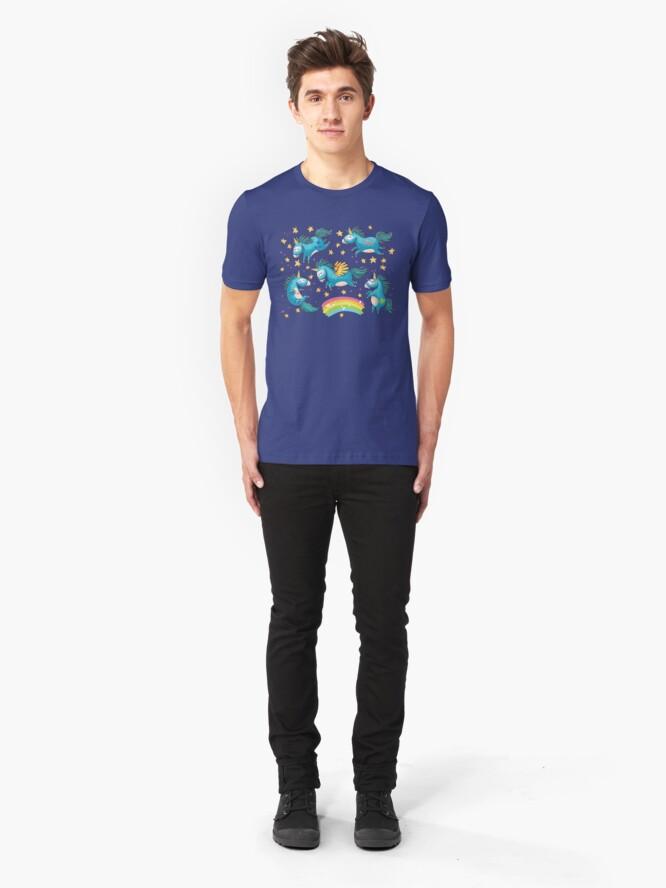 Alternative Ansicht von Ich glaube an Magie Slim Fit T-Shirt