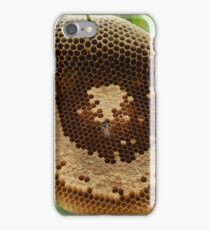 Bees on honeycomb iPhone Case/Skin
