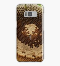 Bees on honeycomb Samsung Galaxy Case/Skin