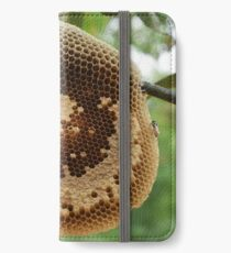 Bees on honeycomb iPhone Wallet/Case/Skin