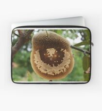 Bees on honeycomb Laptop Sleeve