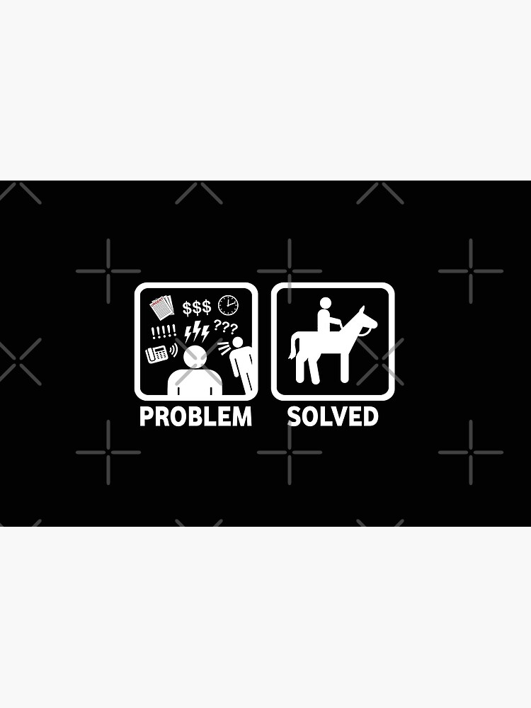 Funny Horse Riding Problem Solved by BeyondEvolved