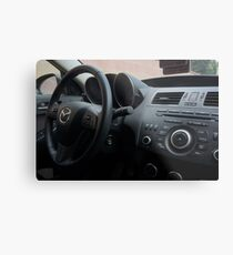 Mazdaspeed 3 Steering Wheel Metal Print