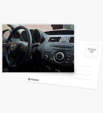 Mazdaspeed 3 Steering Wheel Postcards