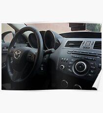 Mazdaspeed 3 Steering Wheel Poster