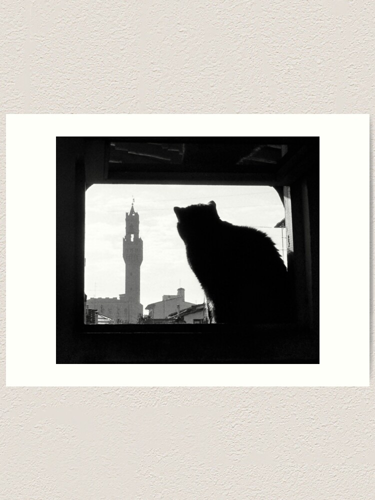 Alternate view of Silhouette, Florence Art Print