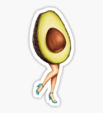 Fruit Stand - Avocado Girl Sticker