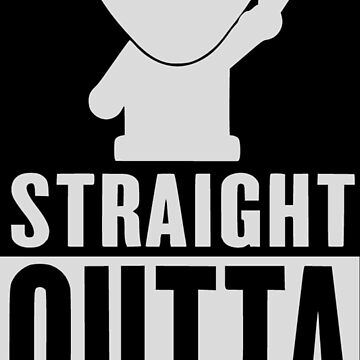 Straight Outta Space Alien by SpaceAlienTees