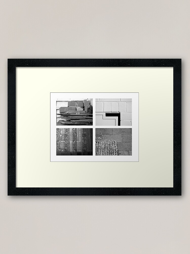 Alternate view of At Home Framed Art Print