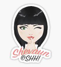 Watermark SHH! Sticker